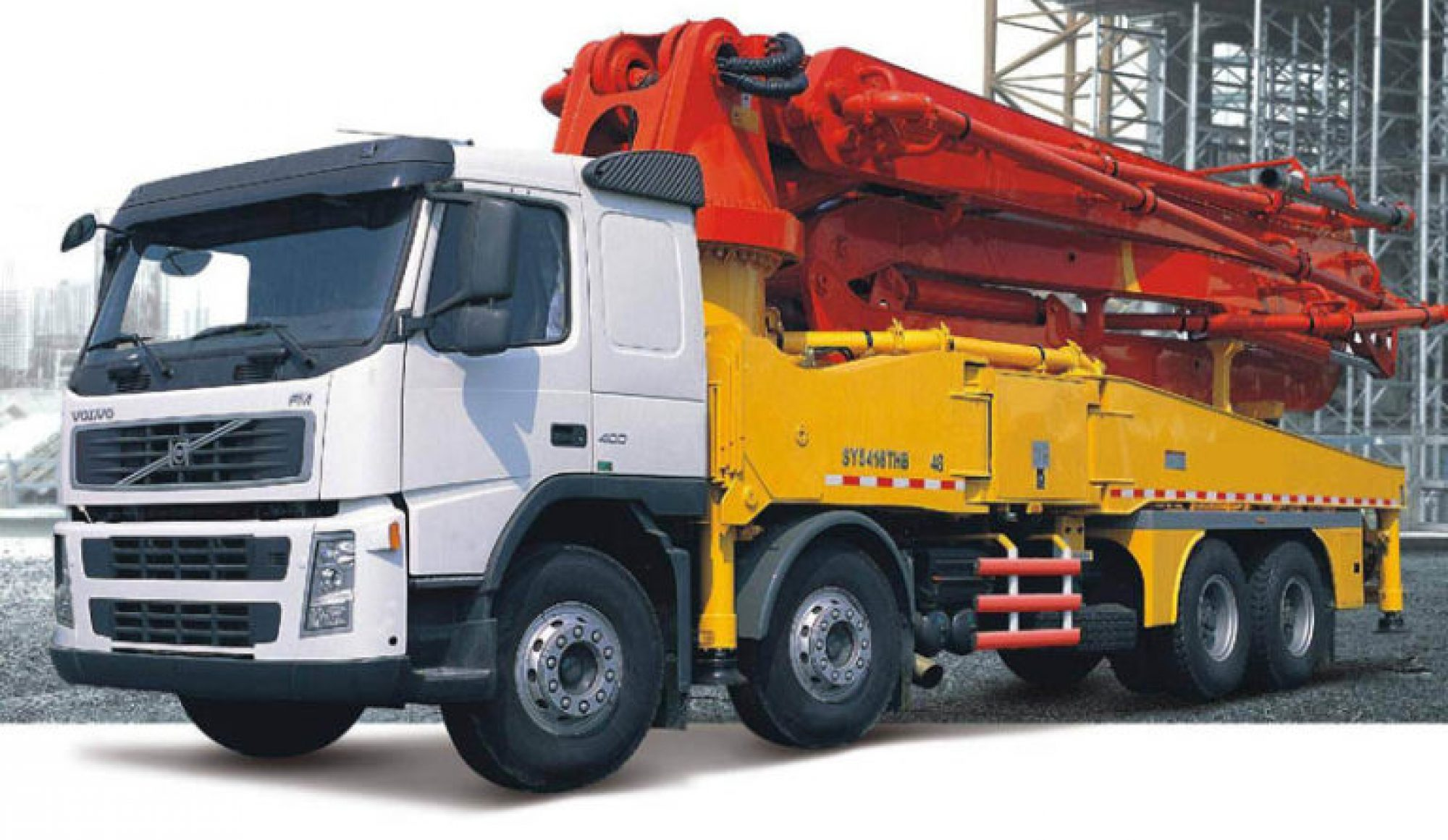 Concrete Pump Hire UK